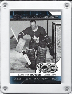 Bower Johnny Upper Deck 2017-18 Centennial Standout 100 years č.CS-67