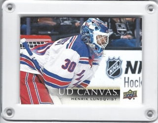 Lundqvist Henrik Upper Deck 2018-19 Canvas č.C173