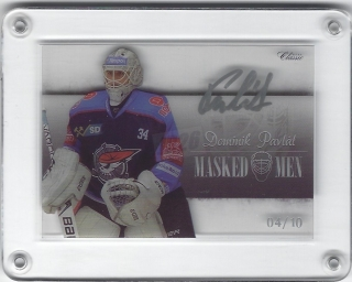 Pavlát Dominik OFS YWB-YGB 2018-19 Masked Men signature /10 č.MM-25