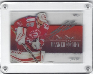 Jan Strmeň OFS YWB-YGB 2018-19 Masked Men signature /10 č.MM-26