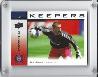 Busch Jon Upper Deck 2008 Keepers č.KP-1