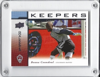 Coundoul Bouna Upper Deck 2008 Keepers č.KP-4