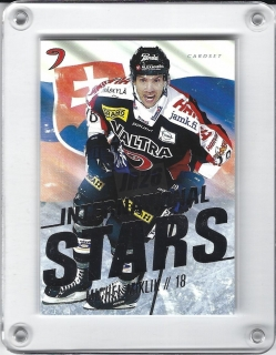 Miklík Michel Cardset Finland 2017-18 International Stars č.IS3